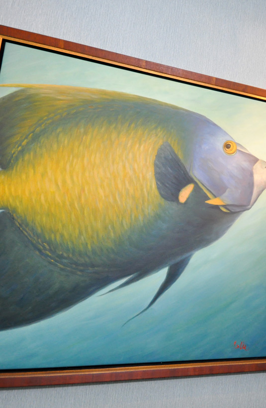 Office Image | Fish Artwork